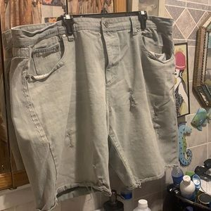 King maker Jean shorts